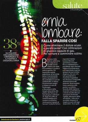 Ernia Lombare: falla sparire così