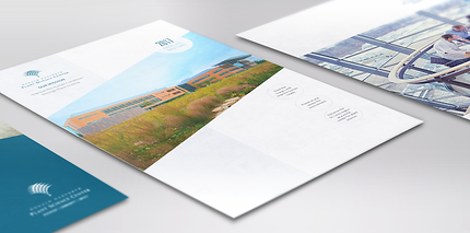 Annual report designs