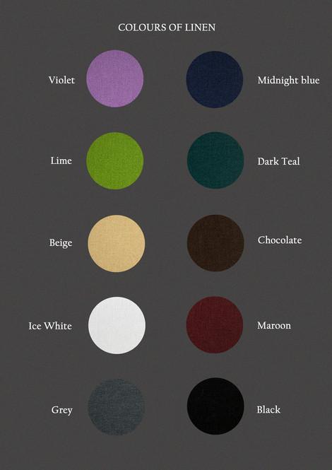 Colours of Linen