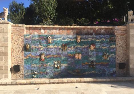 Custom Tile Mural