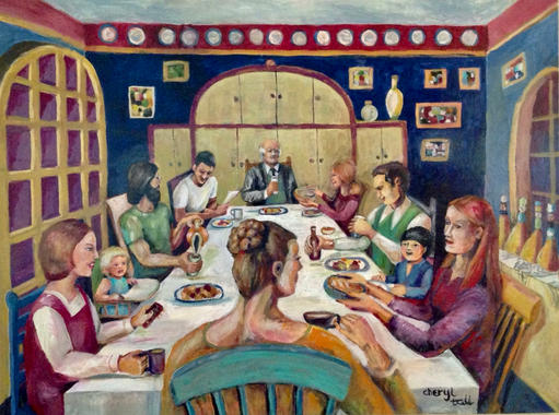 Dinner at the Dollmakers