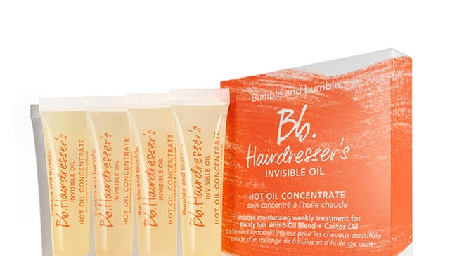 Hairdresser's Invisible Oil Hot Oil Concentrate 4 Pack