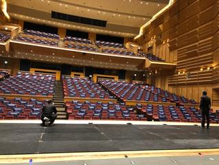 第33回長野県芸術文化総合フェスティバル伊那会場準備及びリハーサル
