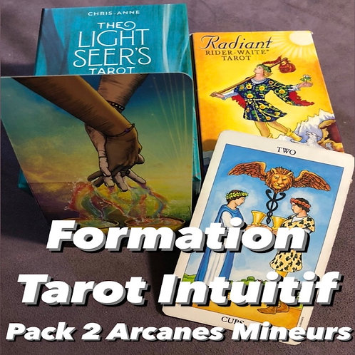 FORMATION TAROT INTUITIF - PACK 2 ARCANES MINEURS