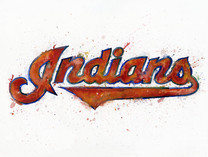 Cleveland Indians Watercolor Logo