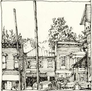 Portland Drawing 1