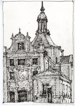 Spain Drawing 8