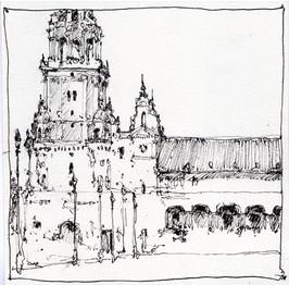 Spain Drawing 3