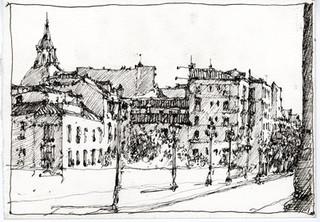 Spain Drawing 5