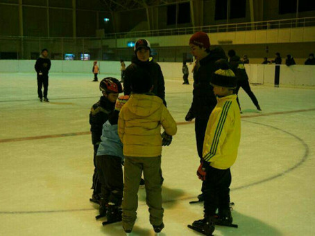 2月21日(日)今市青少年スポーツセンターにてスケート教室