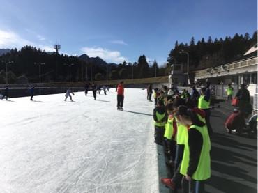 第5回目のスケートスクール/先日の下野新聞記事について