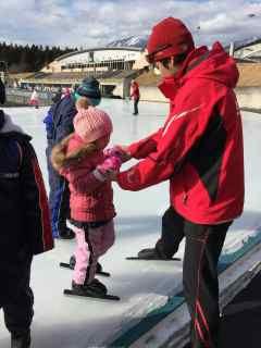 1月4日スケートスクール