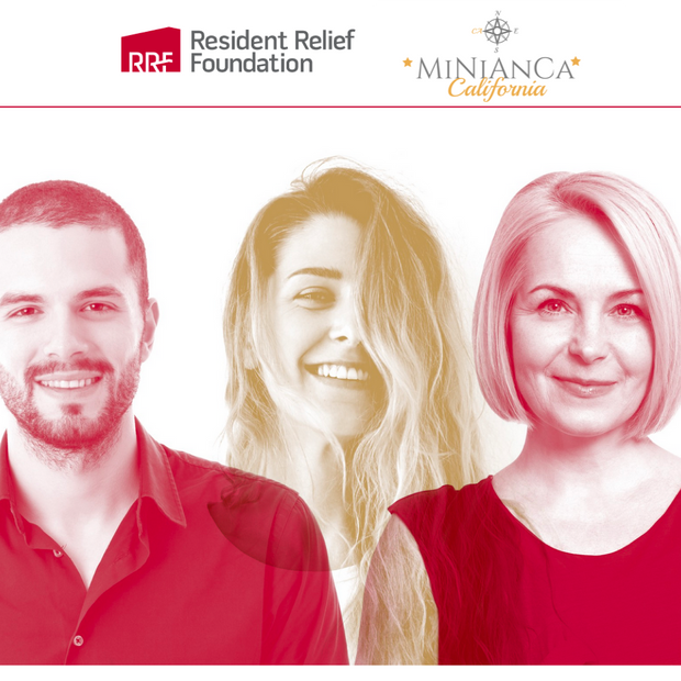 MiNiAnCa x Resident Relief Foundation
