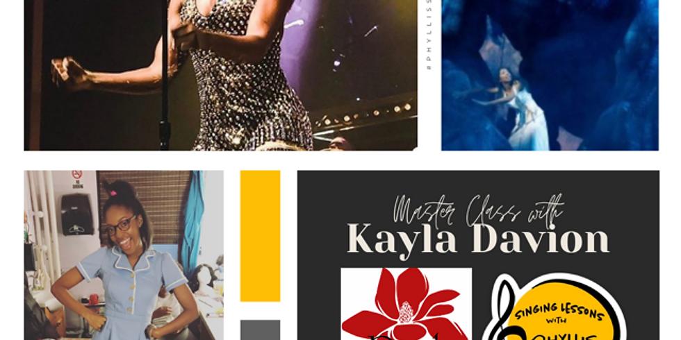 Masterclass with Kayla Davion