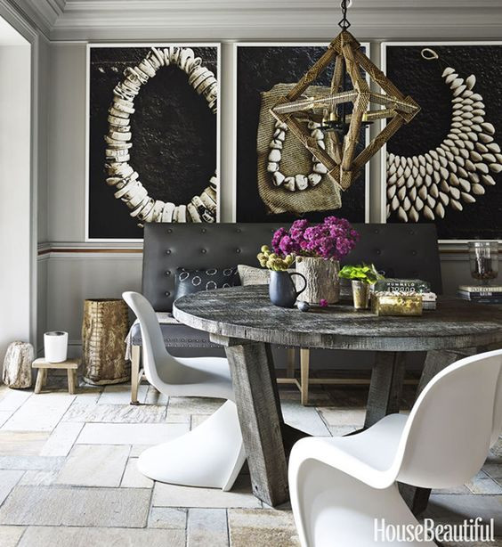 Inspiration for dining table