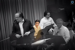 Rehearsal with Charles Dutoit