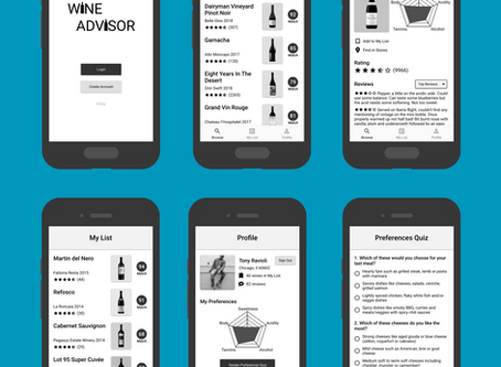 Helping wine drinkers discover new wines that match their preferences