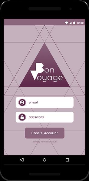 Bon Voyage prototype
