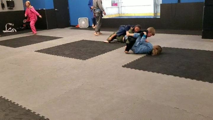 Monday our Children's Gi Class had a blast playing Pass, Sweep, Submit. Do you have a child who would like to try out jiu jitsu? We have kids classes every Monday, Wednesday, and Saturday - come check it out!