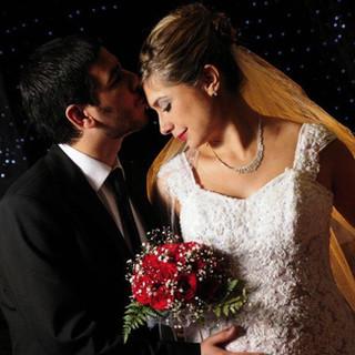 novios casamiento en salón de zona sur