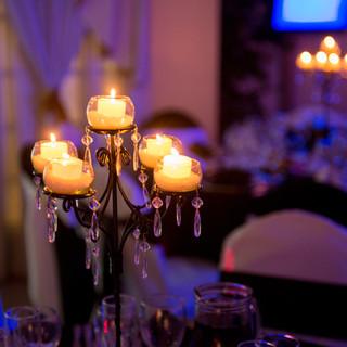 candelabros para mesas bodas