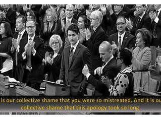 On apologies...