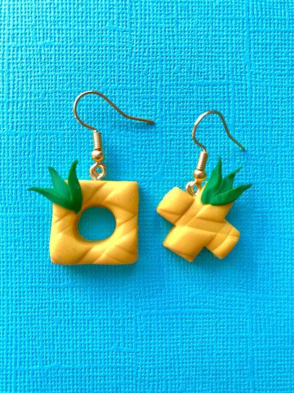 Pineapple Quearrings