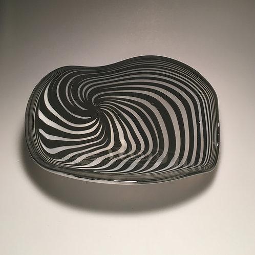 Wavy Spiral Black/White