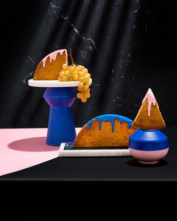 Artful Cake Centerpieces
