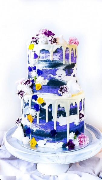 Colour Pop Drip Cake