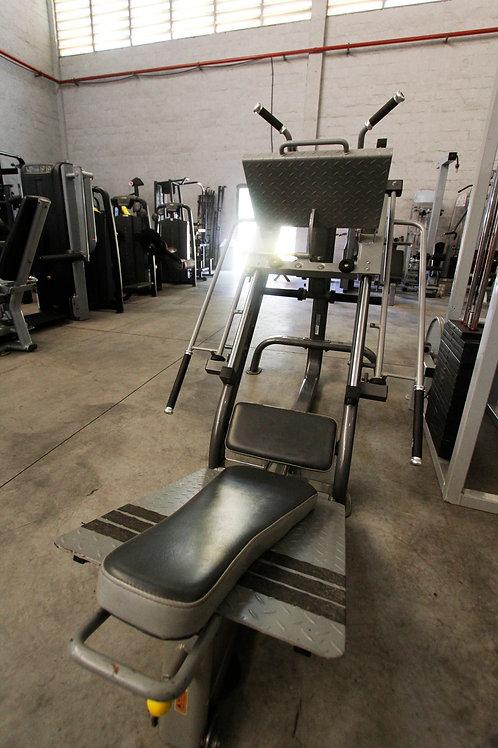 Legpress 45°+ Hack machine Wellness Impulse®
