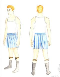 1930s Undergarments Men