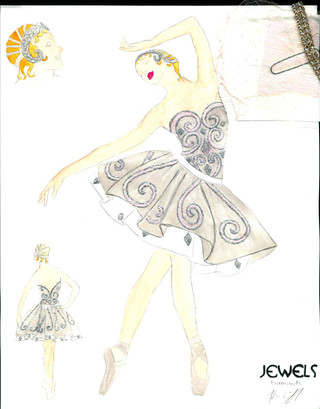 Diamonds Art Deco Female