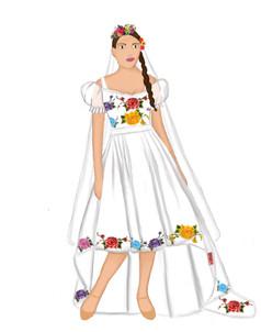 La Perichole Wedding Dress
