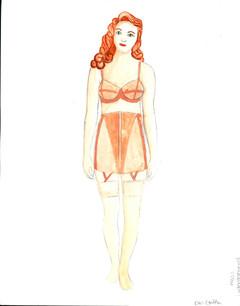 1930s Undergarments Women