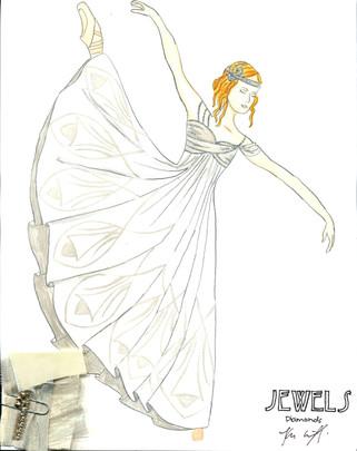 Diamonds Art Nouveau Female