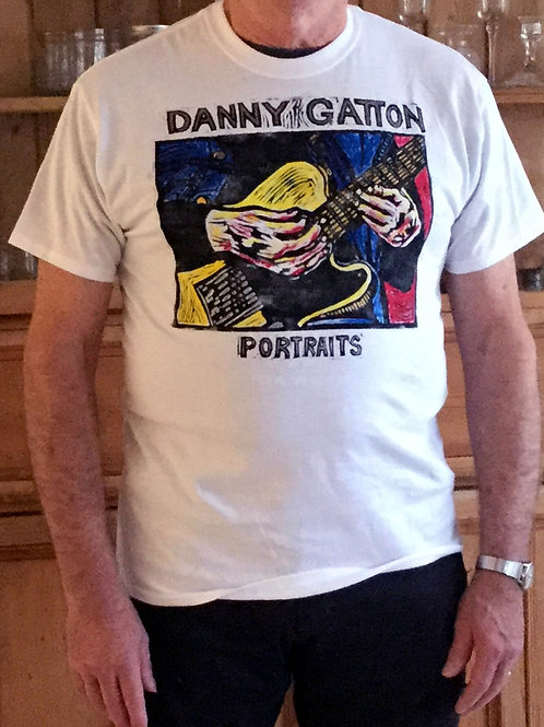 Danny Gatton Portraits Tee Shirt
