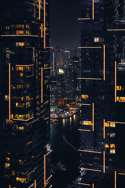 photo-of-buildings-during-nighttime-2603