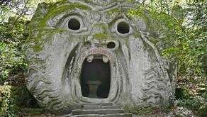 Il Parco alchemico dei mostri a Bomarzo