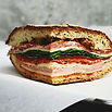 Мясо и сыр сэндвич