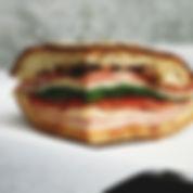 Sandwich au fromage et la viande
