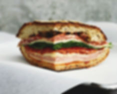 Kjøtt og ost Sandwich