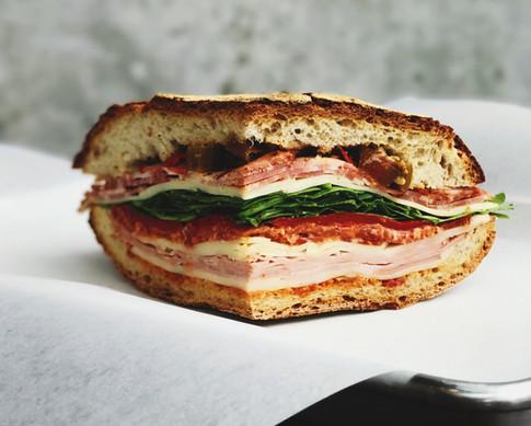 Carne e Queijo Sandwich
