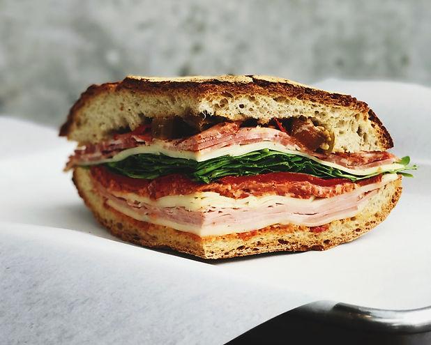 Carne e formaggio Sandwich