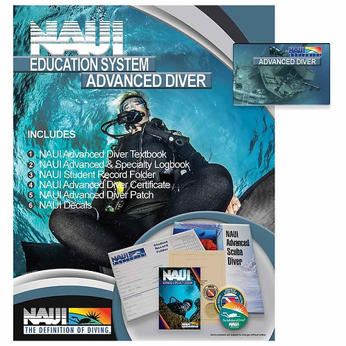 The Premier - NAUI Education System: Advanced Scuba Diver