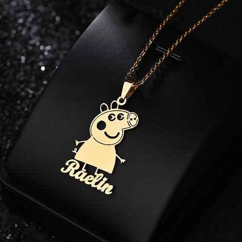 Custom Character Name Necklace