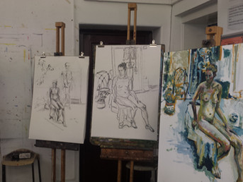 Life Drawing Classes for Autumn