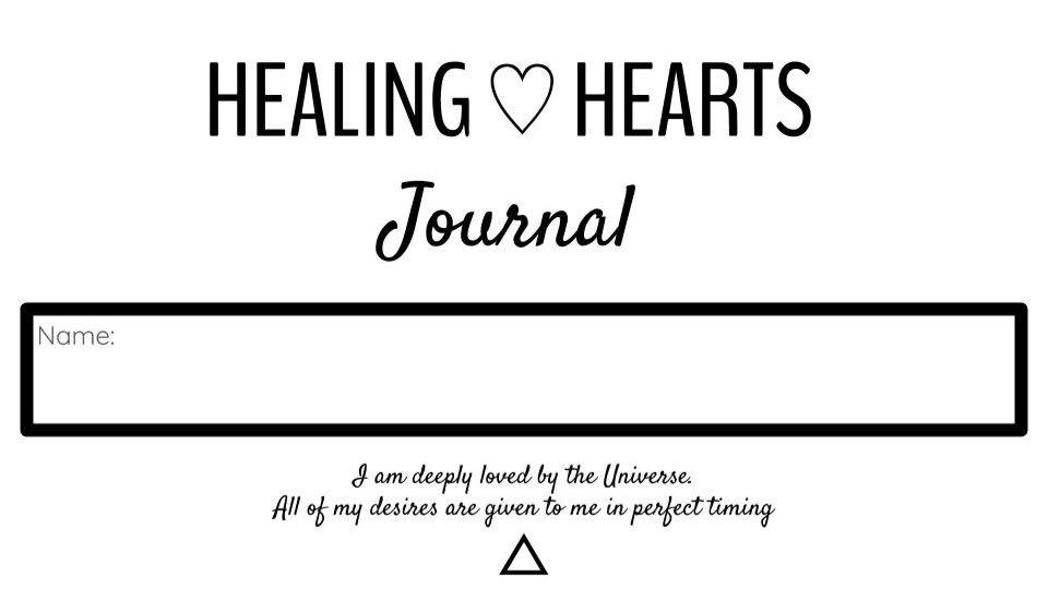 Healing Hearts Journal