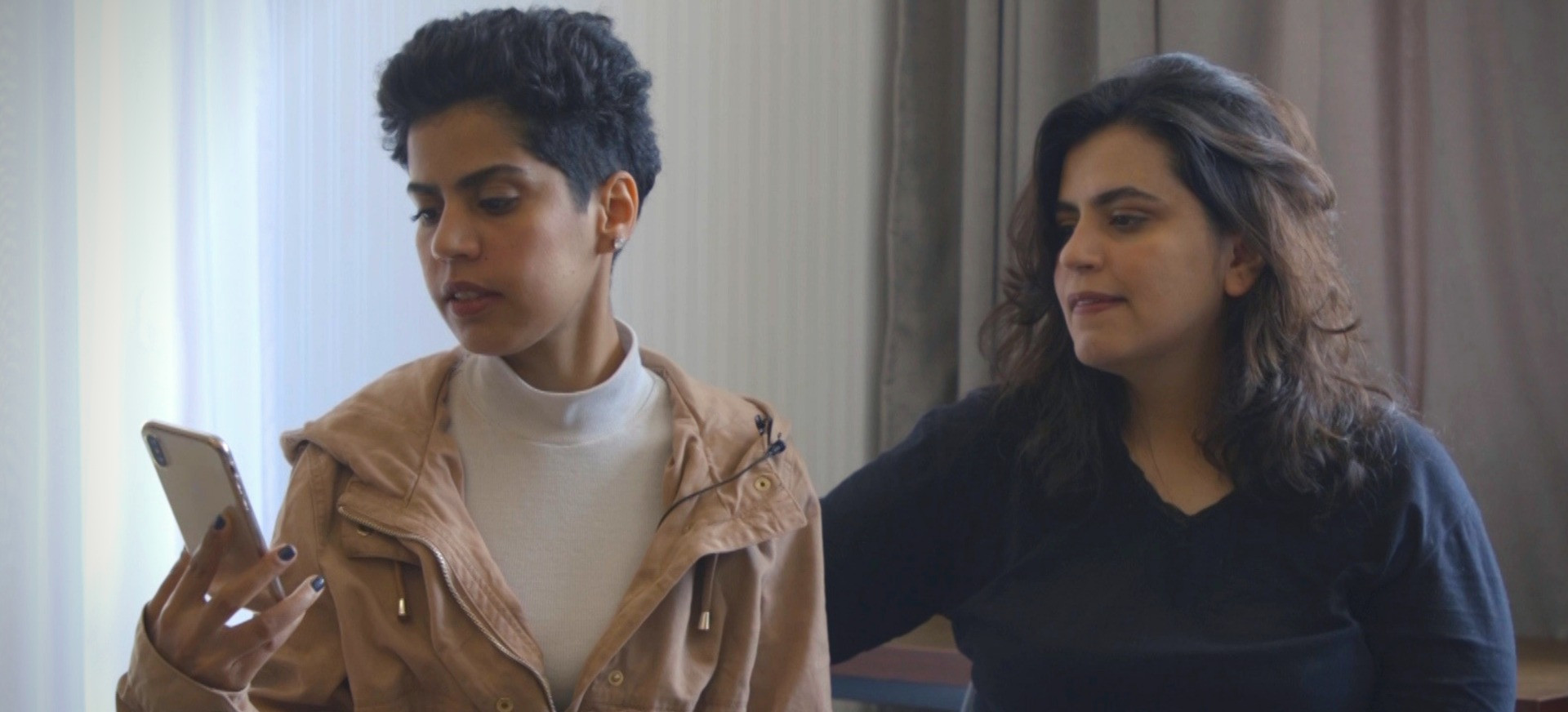 Fleeing Saudi sisters issue plea for help and a message for Apple and Google
