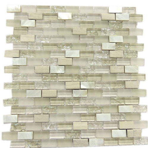 Glass  Shell Stone Mosaic Tile G13